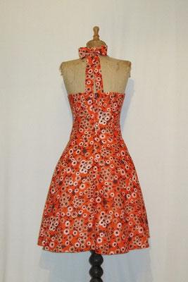 Neckholderkleid mit Petticoat