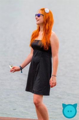 Cocktailkleid schwarz | Fotograf: David Kastner