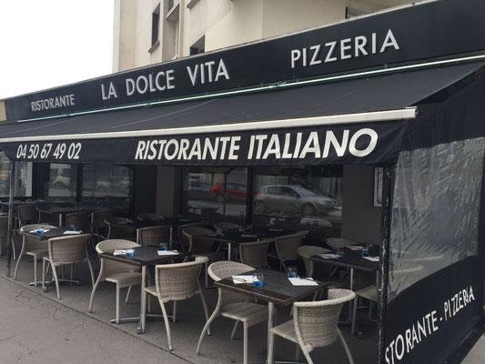salle terrasse la dolce vita ristorante pizzeria l 39 italie annecy mangez italien. Black Bedroom Furniture Sets. Home Design Ideas
