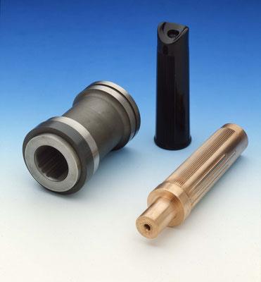 Elektrode und Formeinsatz für Pumpengriffstück