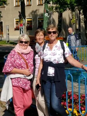 Ellen, Kerstin und Birgit