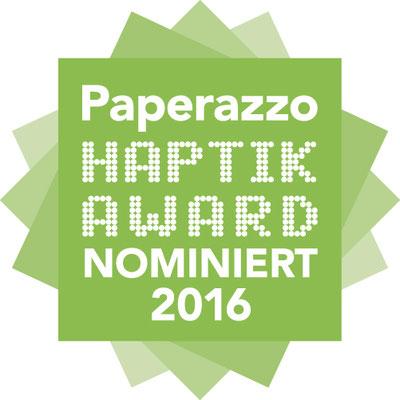 Paperazzo Haptik Aword Nominiert 2016