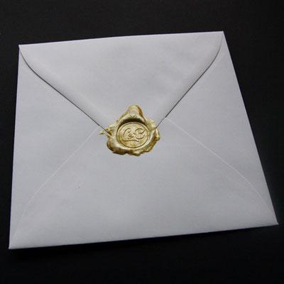 Siegel für Umschlag