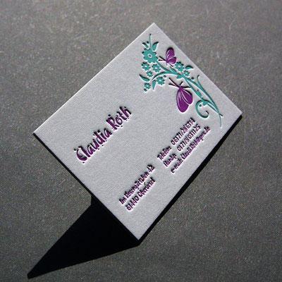 Jetzt Letterpress Visitenkarten Auch Online Bestellen