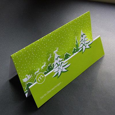 Formstanze für Weihnachtskarte Motivstanze.