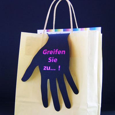 Taschen Hänger Formstanze.