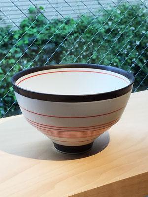 "Arita Porcelain Ware ""Sabichu Sendan Red""  ¥1,944  ■Pottery ■Size: φ12 H7.5cm ■Microwave &Dishwasher Safe"