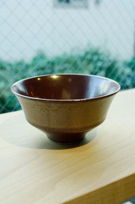 "Arita Pottery Ware ""Kaki Aka""  ¥1,620 ■Pottery ■Size: φ11.5 H6cm ■Microwave &Dishwasher Safe"