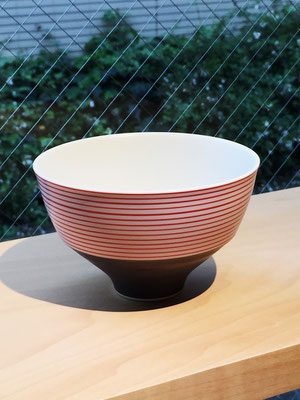"Arita Porcelain Ware ""Gosu Sendan Red""  ¥1,944  ■Pottery ■Size: φ12 H7.5cm ■Microwave &Dishwasher Safe"
