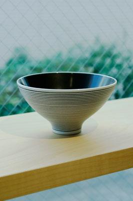 "Arita Porcelain Ware ""Kuro Gosu Zohgan""  ¥1,944  ■Pottery ■Size: φ12.5 H6.5cm ■Microwave &Dishwasher Safe"