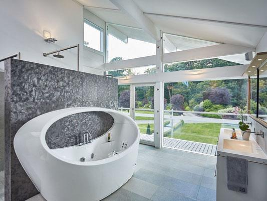 Master Bathroom with amazing interior