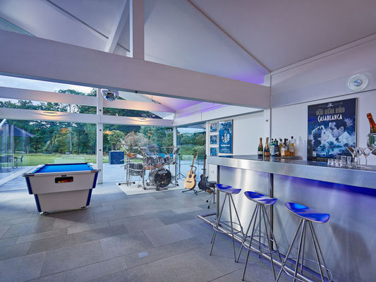 Music Room with own bar