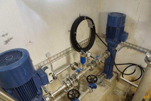 Pumpen - Reservoir & STPW Hüslibühl