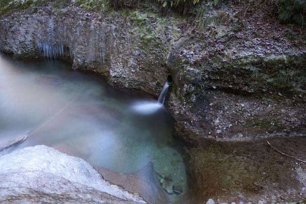Quellabfluss Burri