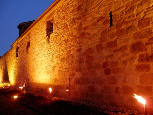 Wachenheim Stadtmauer_Foto:WeinKunstPfalz