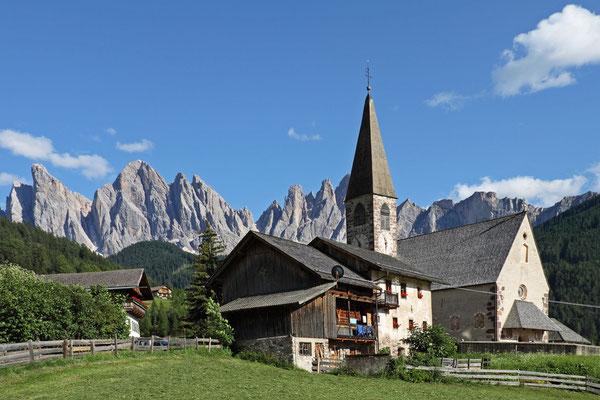 St. Magdalena und die Geislerspitzen im Vilnößtal - Dolomiten 2012