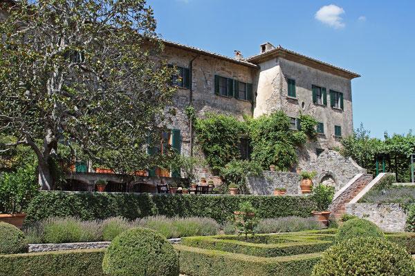 Badia a Coltibuono - Weingut nahe Siena