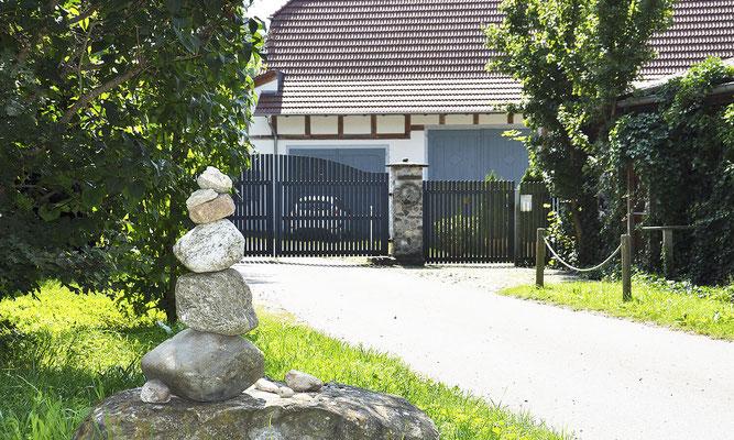 Blaues Tor, Eingang