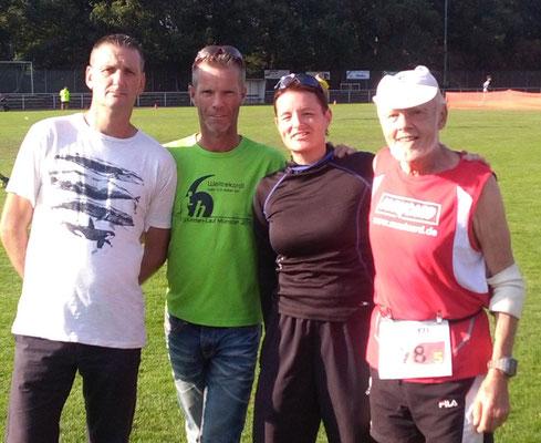 24.09.2016 Weezer Staffel Stefan, Ralf, Claudia und Rudi