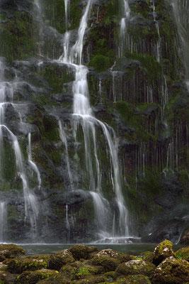 Detail des Gollinger Wasserfalls - Salzburger Land