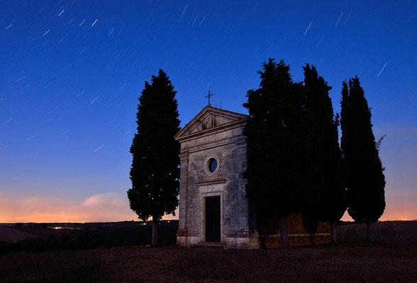 Cappella Vitaleta - Val d´Orcia - Toskana