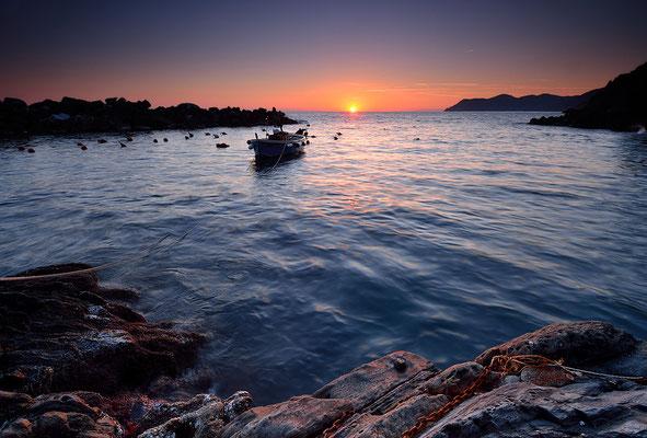 La Barca - Hafen von Riomaggiore - Cinque Terre - Ligurien