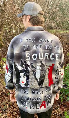 """Baumwollhemd, """"the source"""""""