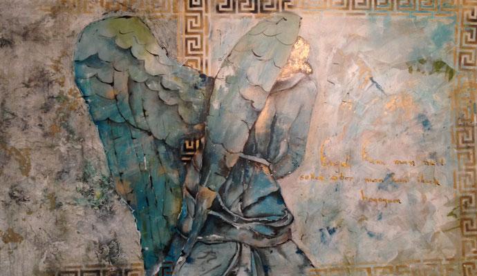 "Schutzengel; ""Engel der Beziehungen"", 92 - 155x92"