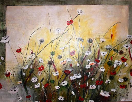 Blumenwiese, Diptychon
