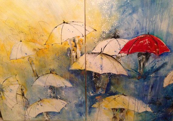 the red umbrella, 133x96