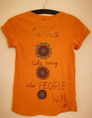 "Shirt, ""winners like seeing other people win"", Gr. S"