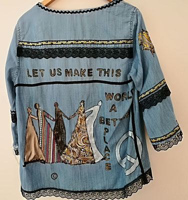 """Modell 18, """"let us make this world a better place"""", RS"""