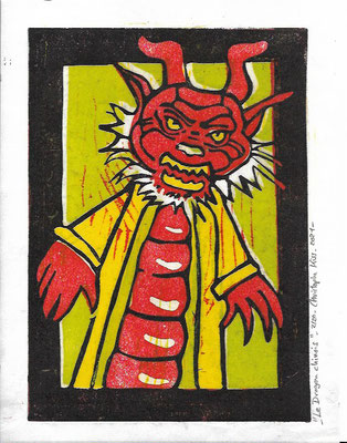 """ Le Dragon chinois "" 2021"