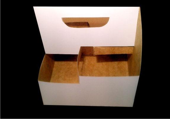 4.- Canastilla para 4 vasos.