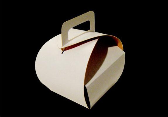 12.- Caja pastelera.
