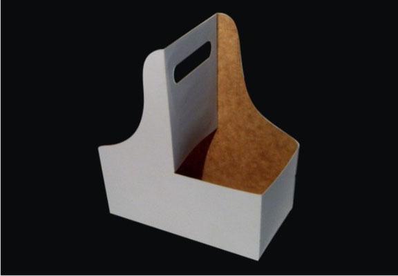 3.- Canastilla para 2 vasos.