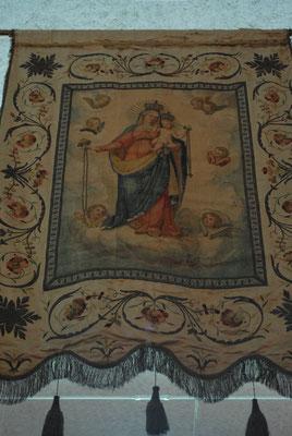 Stendardo Madonna del Rosario