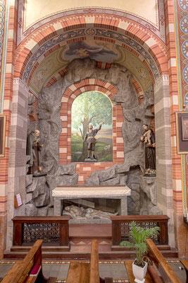 Altare di S. Isidoro Antonio da Padova e Antonio Abate