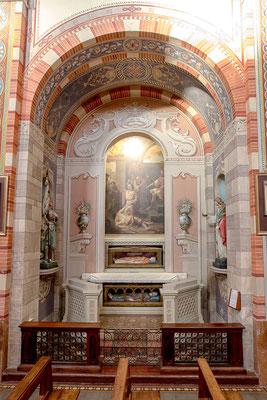 Cappella dei Santi patroni Gervaso e Protaso, Sant' Agnese e Santa Giovanna d'Arco