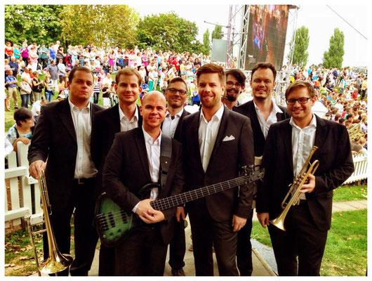 Damian und Tom Gaebel Band
