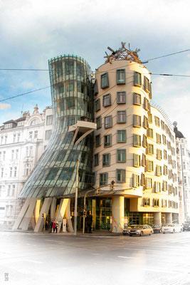 Tančící dům - Ginger & Fred - Praha
