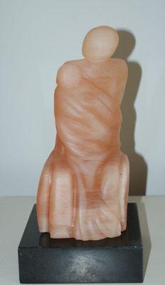 zitten figuur, Seleniet oranje 2013*