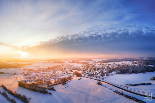 Hayingen im Winter