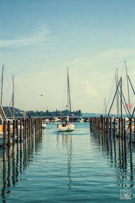 Schiffe am Bodensee