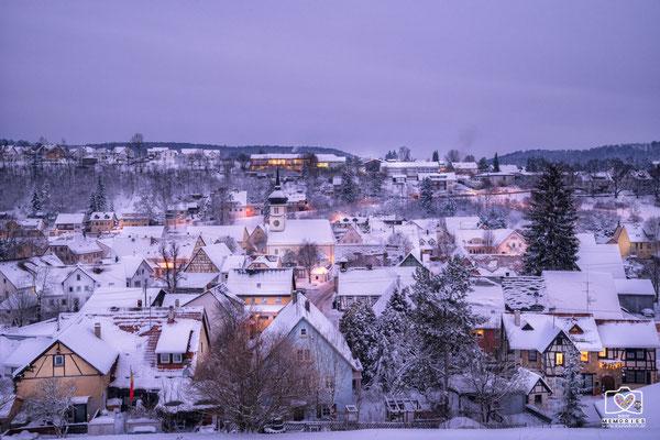 Mägerkingen im Winter