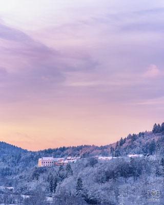 Mariaberg im Winter