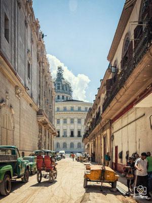 Straßenleben Havanna