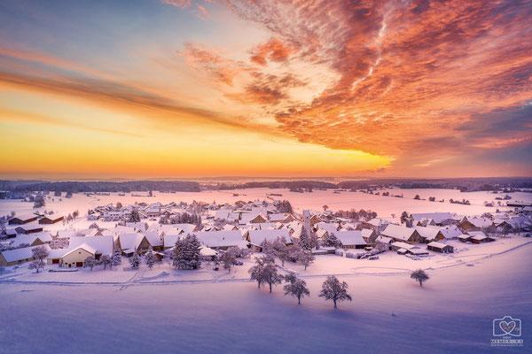 Wilsingen im Winter