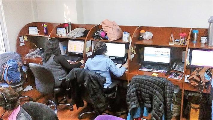 Muebles Call Center Lab. Blanco