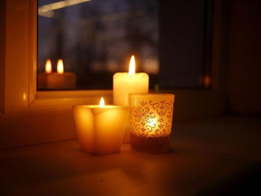 Des bougies à vos fenêtres